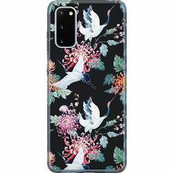 Samsung Galaxy S20 Thin Case Botanical Birds