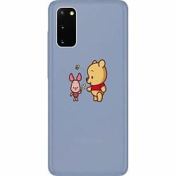 Samsung Galaxy S20 Thin Case Happy Bear With Tiny Pig