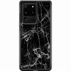 Samsung Galaxy S20 Ultra Hard Case (Svart) Marmor Svart