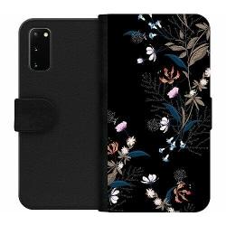 Samsung Galaxy S20 Wallet Case Blommor