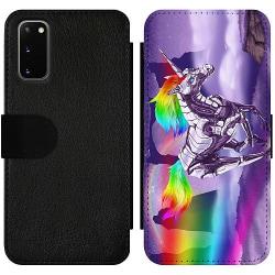 Samsung Galaxy S20 Wallet Slim Case Badass Unicorn