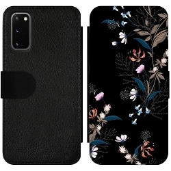 Samsung Galaxy S20 Wallet Slim Case Blommor