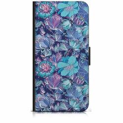 Samsung Galaxy Xcover 3 Plånboksfodral Blommor