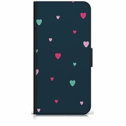 Samsung Galaxy A20s Plånboksfodral Falling Hearts <3