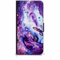 Apple iPhone X / XS Plånboksfodral Lila