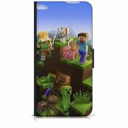 Apple iPhone 5 / 5s / SE Plånboksfodral MineCraft