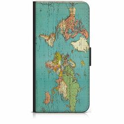 Xiaomi Mi 11 Plånboksfodral World Map