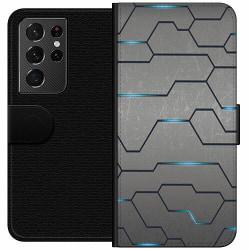 Samsung Galaxy S21 Ultra Wallet Case Mönster
