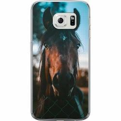 Samsung Galaxy S6 Edge Thin Case Häst / Horse