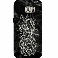 Samsung Galaxy S6 Edge Thin Case Marmor Ananas