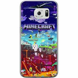 Samsung Galaxy S6 Edge Thin Case MineCraft
