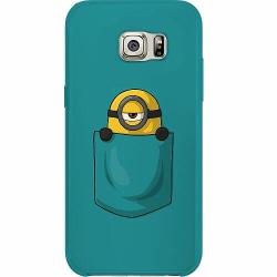Samsung Galaxy S6 Edge Thin Case Pocket Minion