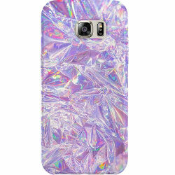 Samsung Galaxy S6 Thin Case Holographic Diamonds