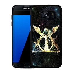 Samsung Galaxy S7 Edge Soft Case (Svart) Harry Potter