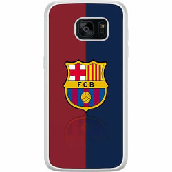 Samsung Galaxy S7 Edge Soft Case (Frostad) FC Barcelona