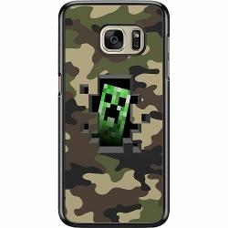 Samsung Galaxy S7 Hard Case (Svart) Minecraft