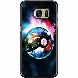 Samsung Galaxy S7 Hard Case (Svart) Pokémon GO