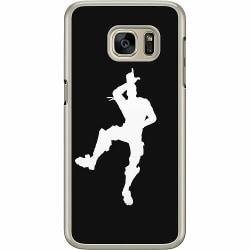 Samsung Galaxy S7 Hard Case (Transparent) Fortnite Dance