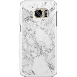Samsung Galaxy S7 Hard Case (Vit) Marmor