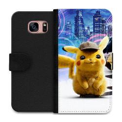 Samsung Galaxy S7 Wallet Case Detective Pikachu - Pikachu