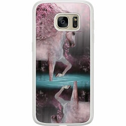 Samsung Galaxy S7 Soft Case (Frostad) Unicorn Pond