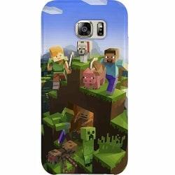 Samsung Galaxy S7 Thin Case MineCraft