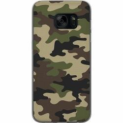 Samsung Galaxy S7 Thin Case Woodland Camo