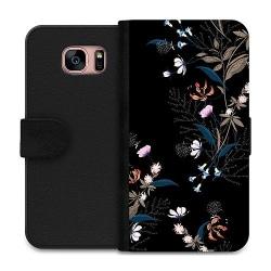 Samsung Galaxy S7 Wallet Case Blommor