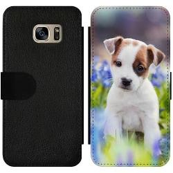 Samsung Galaxy S7 Wallet Slim Case Hund