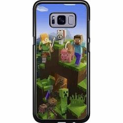 Samsung Galaxy S8 Hard Case (Svart) MineCraft