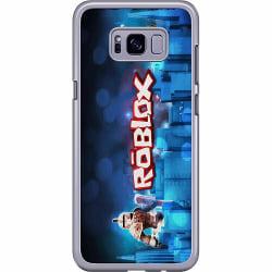 Samsung Galaxy S8 Hard Case (Transparent) Roblox