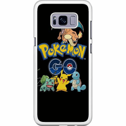 Samsung Galaxy S8 Hard Case (Vit) Pokemon