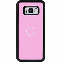 Samsung Galaxy S8 Heavy Duty 2IN1 Hjärta