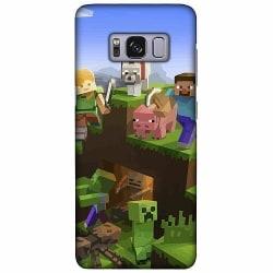 Samsung Galaxy S8 LUX Mobilskal (Matt) MineCraft