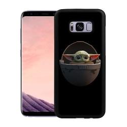 Samsung Galaxy S8 Soft Case (Svart) Baby Yoda