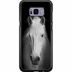 Samsung Galaxy S8 Plus Hard Case (Svart) Vit Häst