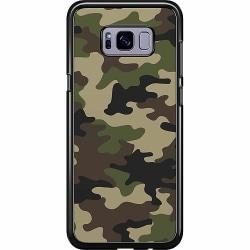 Samsung Galaxy S8 Plus Hard Case (Svart) Woodland Camo