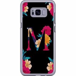 Samsung Galaxy S8 Plus Hard Case (Transparent) Bokstaven - M