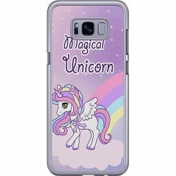 Samsung Galaxy S8 Plus Hard Case (Transparent) UNICORN