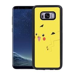 Samsung Galaxy S8 Plus Soft Case (Svart) Pokémon: Pikachu