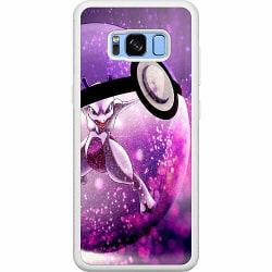 Samsung Galaxy S8 Soft Case (Vit) Pokemon
