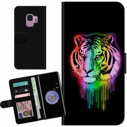 Samsung Galaxy S9 Billigt Fodral Neon Tiger