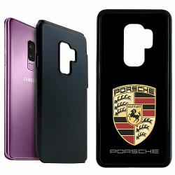 Samsung Galaxy S9+ Duo Case Svart Porsche