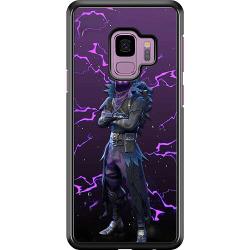 Samsung Galaxy S9 Hard Case (Black) Raven Fortnite Thunder