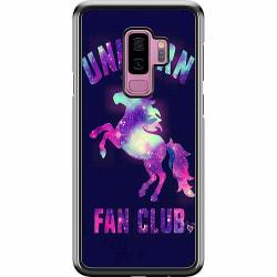 Samsung Galaxy S9+ Hard Case (Svart) Badass Unicorn