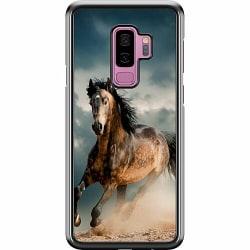 Samsung Galaxy S9+ Hard Case (Svart) Häst
