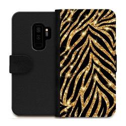 Samsung Galaxy S9+ Wallet Case Gold & Glitter