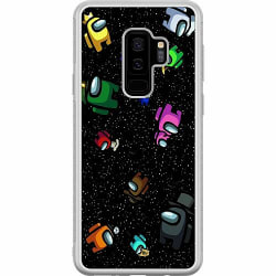 Samsung Galaxy S9+ Soft Case (Frostad) Among Us
