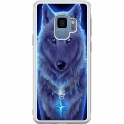 Samsung Galaxy S9 Soft Case (Frostad) Lunar Presence Wolf