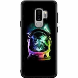 Samsung Galaxy S9+ Soft Case (Svart) Space Cat